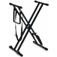 Euromusic - E-Extrem dupla soros billentyűs állvány kerekekkel