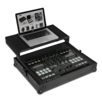 UDG - Ultimate Flight Case Multi Format XL Black MK3 Plus (Laptop Shelf)