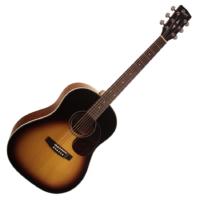 Cort - Earth300SSF-TAB akusztikus gitár elektronikával tobacco sunburst ajándék félkemény tok
