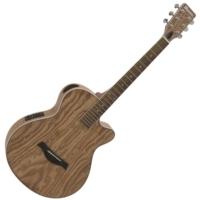 Dimavery - SP-100 Western gitár elektronikával natúr színben ajándék puhatok