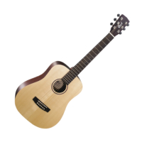 Cort - EarthMiniF - 3/4-es akusztikus gitár elektronikával natúr ajándék puhatok
