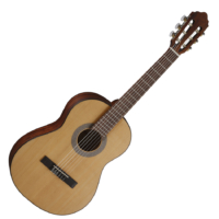 Cort - AC70 OP 3/4-es klasszikus gitár matt natúr tokkal ajándék hangolóval