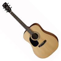 Cort - AD810LH OP balkezes akusztikus gitár fényes natúr ajándék puhatok