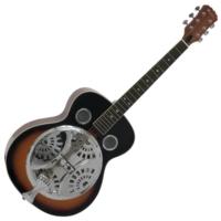 Dimavery - RS-300 Rezonátoros gitár sunburst ajándék puhatok