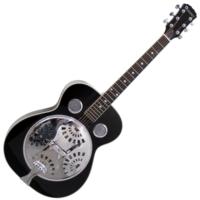 Dimavery - RS-310 Rezonátoros gitár fekete ajándék puhatok
