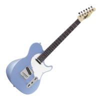 Cort - Classic TC elektromos gitár kék ajándék félkemény tok
