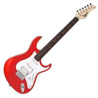 Cort - G110-SRD elektromos gitár skarlátvörös ajándék puhatok
