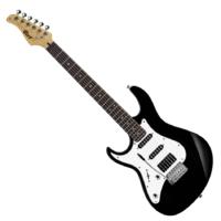 Cort - G250LH-BK balkezes elektromos gitár fekete ajándék puhatok