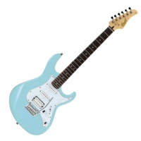 Cort - G250-CFB elektromos gitár babakék ajándék puhatok