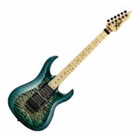 Cort - X11QM-GRB elektromos gitár zöld burst ajándék félkemény tok