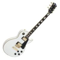 Dimavery - LP-520 elektromos gitár fehér ajándék puhatok