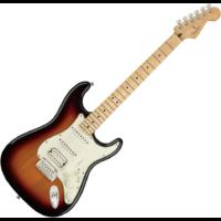 Fender - PLAYER STRATOCASTER HSS MN 3-Color Sunburst 6 húros elektromos gitár ajándék félkemény tok