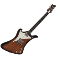 Jozsi Lak - Foxywave elektromos gitár sunburst ajándék félkemény tok