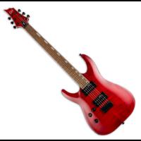 LTD - H-200FM LH 6 húros balkezes elektromos gitár ajándék félkemény tok