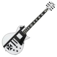 LTD - Iron Cross James Hetfield Signature Modell fehér ajándék félkemény tok