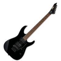 LTD - M-200 BLK 6 húros elektromos gitár ajándék félkemény tok