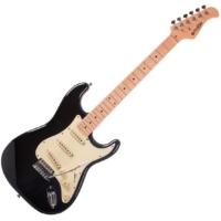 Prodipe - ST80 MA Black elektromos gitár ajándék puhatok