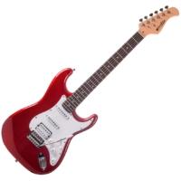 Prodipe - ST83 RA Candy Red elektromos gitár ajándék puhatok