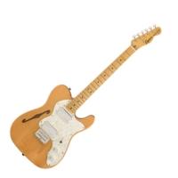 Squier - Classic Vibe 70S Thinline Telecaster Natural 6 húros elektromos gitár