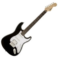 Squier - Bullet Stratocaster HSS Black 6 húros elektromos gitár