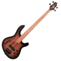 Cort - B4FL-Piezo-OPTA elektromos basszusgitár ajándék félkemény tok