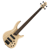 Cort - B4Plus-AS Artisan elektromos basszusgitár natúr ajándék félkemény tok