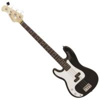 Dimavery - PB-320 E-Bass LH balkezes elektromos basszusgitár fekete ajándék puhatok