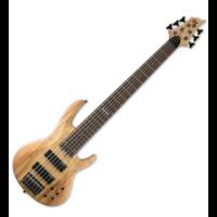 LTD - B-206SM NS  6 húros basszusgitár ajándék félkemény tok