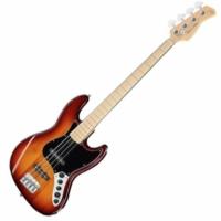 SIRE Marcus Miller - V7 Vintage Alder-4 Fretless Tobacco basszusgitár ajándék félkemény tok