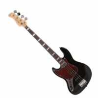 SIRE Marcus Miller - V7 Alder-4 Lefty Black balkezes basszusgitár ajándék félkemény tok