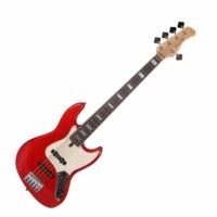 SIRE Marcus Miller - V7 Alder-5 Bright Metallic Red 5-húros basszusgitár ajándék félkemény tok