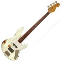 Sandberg - California TM4 4 húros basszusgitár HCA fehér ajándék félkemény tok