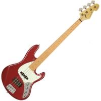 Sandberg - California TM4 4 húros basszusgitár metál piros ajándék félkemény tok