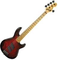 Sandberg - Panther Special 5 húros Basszusgitár Redburst ajándék félkemény tok