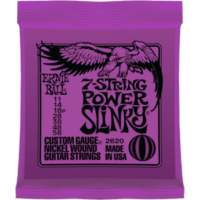 Ernie Ball - Nickel Wound Power Slinky 7 String 11-58 Elektromos Gitárhúr készlet 7-húros