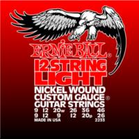 Ernie Ball - Nickel Wound 12 Light Wound G 9-46 Elektromos Gitárhúr készlet 12-húros