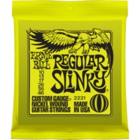 Ernie Ball - Nickel Wound Regular Slinky 10-46 Elektromos Gitárhúr készlet