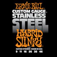 Ernie Ball - Stainless Steel Hybrid Slinky 9-46 Elektromos Gitárhúr készlet