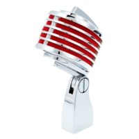 Heil Sound - The Fin króm piros + beépített piros led
