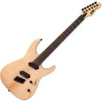 LTD - M-1000 NATURAL SATIN legyezőbundos Elektromos gitár ajándék félkemény tok