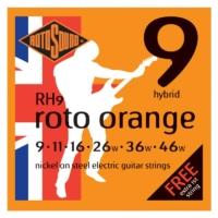 Rotosound - RH9 Roto Orange hybrid elektromos gitárhúr készlet 9-46