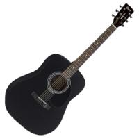 Cort akusztikus gitár, matt fekete