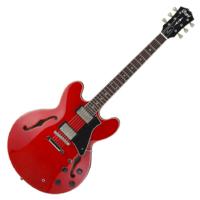 Cort - Co-Source-CR with bag elektromos gitár tokkal félakusztikus cseresznye