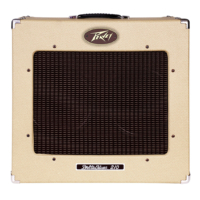 Peavey - Delta Blues 210 Tweed gitárkombó, csöves, 30W