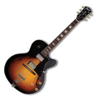 Cort  - Co-Yorktown-TAB with bag félakusztikus gitár tokkal tobacco sunburst