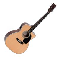 Sigma Jumbo akusztikus gitár elektronikával