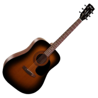 Cort akusztikus gitár, sunburst