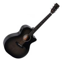 Sigma akusztikus gitár elektronikával, fekete burst