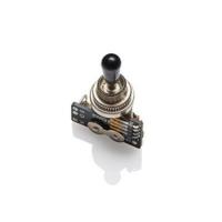 Három állású kapcsoló 3 Way Black Solderless Toggle B289