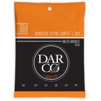 Darco akusztikus bronz, Extra light 10-47